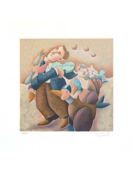 Pinocchio e la pera