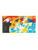 + Cornice 07fo01 Paperella argento 70X50 Cm.