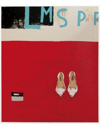 Film noir (scarpetta bianca f.do rosso)