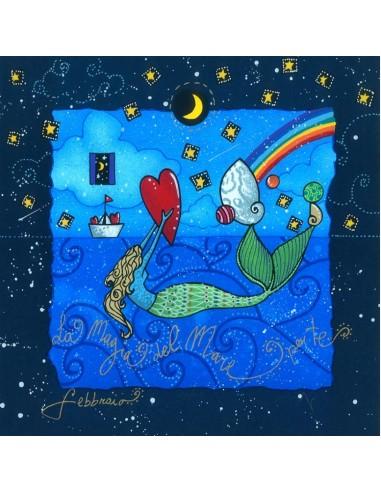 Febbraio (fondo blu) - La magia del...