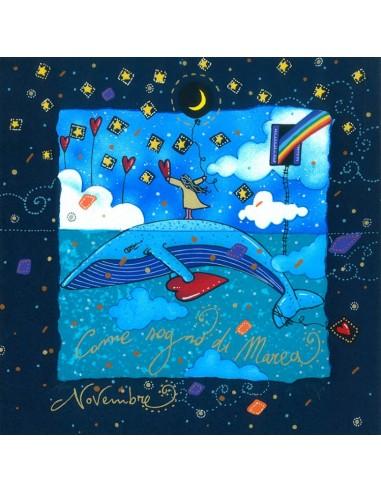 Novembre (fondo blu) - Come sogno di...