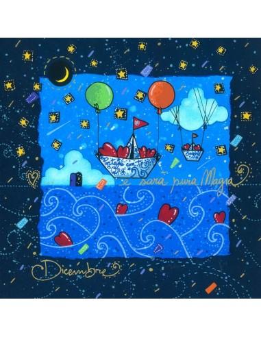 Dicembre (fondo blu) - ... e sarà...