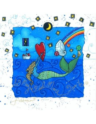 Febbraio (fondo bianco) - La magia...