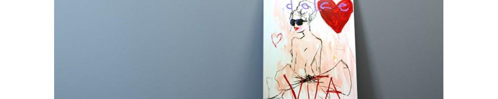 Serigrafie dell'artista Vincent Alran