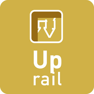 Up Rail binario per appendere i quadri